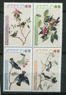 Canada **   N°  2076 à 2079 - Oiseaux - Audubon - 1952-.... Regering Van Elizabeth II
