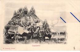 Norvège - Lappefamilie - Norwegen