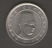 TURCHIA 100 BIN LIRA 2003 - Turchia
