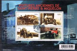 St. Pierre & Miquelon SPM 2014 Voitures Ancien Sheet - Unclassified