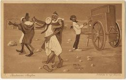 Melilla Penetracion Pacifica 7 D. Mullor 1921 Baile Organillo Orgue De Barbarie Bal Indigene Prostitution - Melilla
