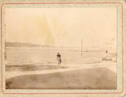 Marseille : La Pointe Rouge - Photo Datée De Février 1917 - Lieux
