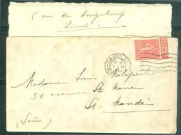 PUBLITIMBRE YVERT N° 199 - PUB 4 évian Source Cachat Sur Lac  En 1928 Malb5105 - Advertising