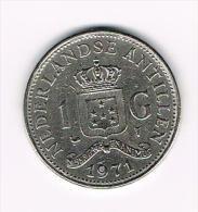 ***  NEDERLANDSE ANTILLEN   1  GULDEN  1971  JULIANA - Antillen (Niederländische)