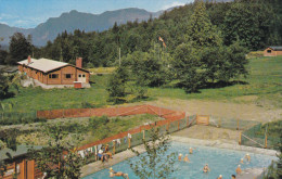 Girl Guide Provincial Campsite , ROSEDALE , B.C.  , Canada , 50-60s : Pool & Longhouse - Scouting
