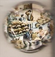 PLACA DE CAVA MASACHS (CAPSULE) COL-LECCIÓ DE  L'OLI Nº6 - Placas De Cava