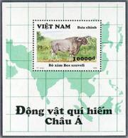 Vietnam Viet Nam MNH Perf Souvenir Sheet 1993 : Wild Animals (Ms662B) - Vietnam