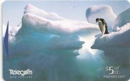 New Zealand - Adelie Penguin, Antarctica II, 411BO, 1997, 115.000ex, Used - Nouvelle-Zélande