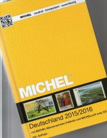 All Stamps Germany With DVD MICHEL 2015/2016 New 52€ D AD Baden Bayern DR 3.Reich Danzig Saar SBZ DDR Berlin AM-Post BRD - Phonecards