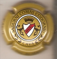 PLACA DE CAVA SADURNI COMAS CODORNIU (CAPSULE) ESCUDO - Placas De Cava