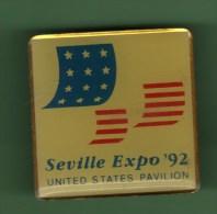 SEVILLE *** EXPO 92 *** UNITED STATES PAVILLON ***  (00Q) - Ciudades