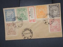 RUSSIE - Enveloppe En Recommandée En 1921 - Aff Plaisant - à Voir - P7682 - Covers & Documents