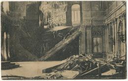 Thronsaal Des Konaks Von Belgrad Der Durch Einen Granateinschlag Zerstort Wurde To Gendarmerie Bais Mayenne - Serbia