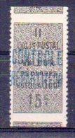 Algérie Colis-postaux N° 8 Neuf * - Variété 'Non Dentelé Horizontalement' - Paquetes Postales