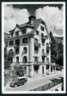 Scuols, Schuls, Pension, Hotel VALENTIN, Oldtimer, Suot Tasna, Inn, Foto Feuerstein - GR Grisons
