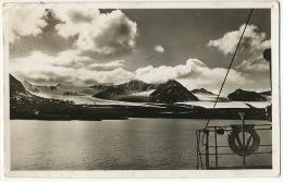 Spitsbergen Kings Bay Real Photo P. Used From Alesund 1939 To Usine Tubest La Fere En Tardenois Aisne - Norvège