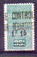 Algérie Colis-postaux N° 28b Neuf * - Chiffre 5 Modifié - Paquetes Postales
