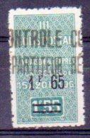 Algérie Colis-postaux N° 32 Neuf * - Variété 'Point Après F Absent' - Paquetes Postales