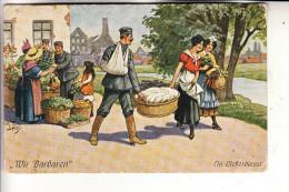 """KÜNSTLER / ARTIST - ARTHUR THIELE, """"Der Liebesdienst"""", 1917, Deutsche Feldpost - Thiele, Arthur"""