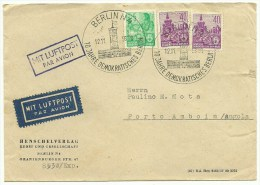 Cover Germany Angola 1958 (2 Scans) - DDR