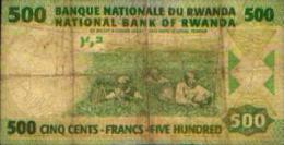 RWANDA - 500 Francs  01.02.2008 - Rwanda