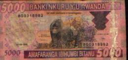 RWANDA - 5000 Francs 01.02.2009 - Rwanda