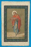 Holycard     St. Ludovicus - Santini