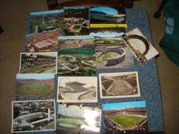 Lot De  54   Cartes Postales Sur Le Theme Des Stades De Foot-ball - Cartes Postales