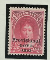 USA Hawai 1893 Mi# 56 * Falz 1$ - Hawaï