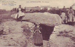 56 Locmariaquer - Un Dolmen + Texte De Théodore Botrel - Locmariaquer