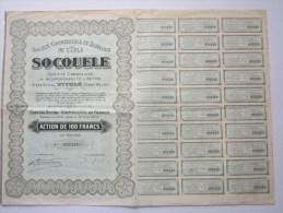 Socouele - Société Commerciale Et Agricole De L´UELE - Afrique