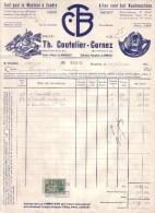BELGIQUE - BRUXELLES - TOUT POUR LA MACHINE A COUDRE - TH. COUTELIER CORNEZ - 1953 - Belgique