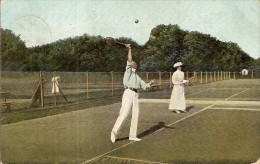 JOUEURS DE TENNIS-sport - Tennis