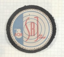 SHOOTING PATCH Archery Competition 1978 - Bor, Serbia / SRJ - Socialist Republics Yugoslavia - Scudetti In Tela