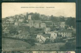 Argenton-chateau ( deux s�vres ) - vue g�n�rale - rau08