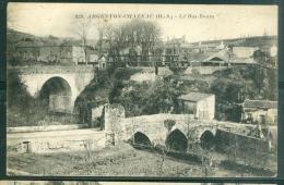 n�829 - ARGENTON CHATEAU Le bas bourg  - rau11