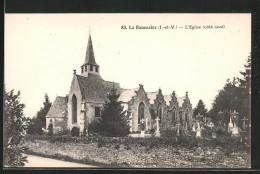 CPA La-Baussaine, L'église - France