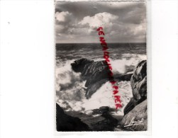 44 - LA COTE D' AMOUR - LES ROCHERS DE LA GRANDE COTE - CACHET POSTAL LE CROISIC 1952 - France