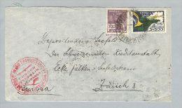 Brasilien Rio 1934-07-25 Condor Zeppelin Nach Zürich - Lettres & Documents