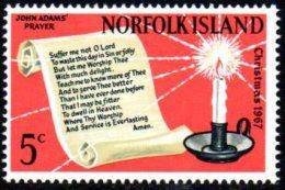 Norfolk Island 1967 Christmas, MNH - Norfolkinsel