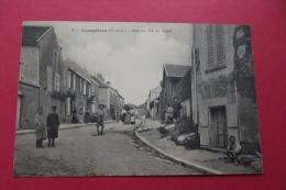 Cp Crespieres Rue Du Pot Au Logis - Autres Communes