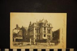 CP, 61, BELLEME Maison Boucicaut   Edition Librairie Guenon Guichard Belleme Dos Simple Precurseur 1903 - France