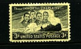 UNITED STATES/USA - 1948  IMMORTAL  CHAPLAINS  MINT NH - United States