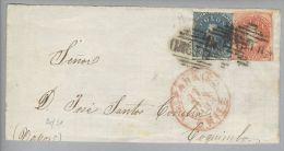 Chile 1863-06-27 Valparaiso Briefvorderseite Nach Coquinto - Chili