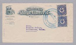Kolumbien 1926-08-11 Illustrierter Brief Nach Bellinzona - Colombie