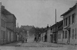 Brienne Le Chateau : La Rue De Beauffremont Et Le Chateau - France