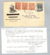 Kolumbien 1924-12-15 Scadta-Brief USA-Bogota - Colombie