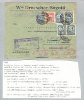 Kolumbien 1929-08-14 Scadta-R-Brief Nach Berlin - Colombie