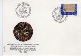 2794   Carta  Fribourg 1983 San Jordi Suiza - Suisse