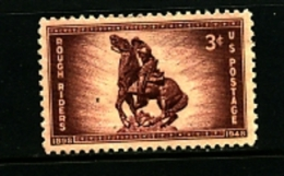 UNITED STATES/USA - 1948  ROUGH  RIDERS  MINT NH - Stati Uniti